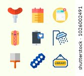 icons about lifestyle with... | Shutterstock .eps vector #1026002491