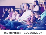 positive group expecting movie... | Shutterstock . vector #1026002707