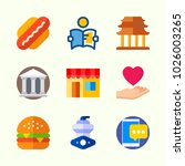 icons about lifestyle with... | Shutterstock .eps vector #1026003265