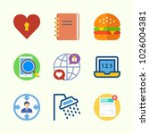 icons about lifestyle with... | Shutterstock .eps vector #1026004381