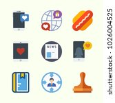 icons about lifestyle with... | Shutterstock .eps vector #1026004525