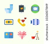 icons about lifestyle with... | Shutterstock .eps vector #1026007849