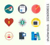 icons about lifestyle with... | Shutterstock .eps vector #1026008011