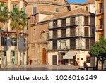 malaga  andalusia  spain  ...   Shutterstock . vector #1026016249