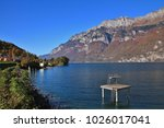 Lake Walensee And Mountains Of...