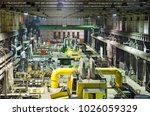 industry interior of coal power ... | Shutterstock . vector #1026059329