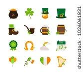 saint patrick s day   flat icon ...   Shutterstock .eps vector #1026061831