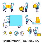 vector creative set of... | Shutterstock .eps vector #1026087427