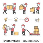 vector creative set of... | Shutterstock .eps vector #1026088027