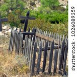 Rustic Wooden Fence Surrounded...