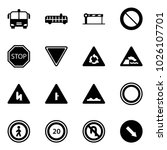 solid vector icon set   airport ...   Shutterstock .eps vector #1026107701