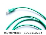 concept network internet cable... | Shutterstock . vector #1026110275