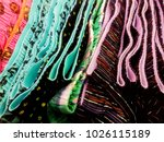 close up. cotton cloth pants | Shutterstock . vector #1026115189