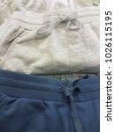 close up. cotton cloth pants | Shutterstock . vector #1026115195
