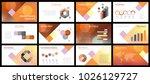 business presentation templates.... | Shutterstock .eps vector #1026129727