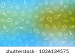 light blue  green vector... | Shutterstock .eps vector #1026134575