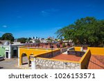 campeche  mexico   january 31... | Shutterstock . vector #1026153571