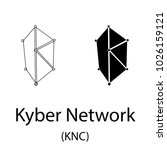 black kyber network... | Shutterstock .eps vector #1026159121
