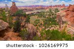 canyonlands national park vista ... | Shutterstock . vector #1026169975