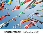 flags | Shutterstock . vector #102617819
