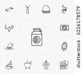 magic line icon set | Shutterstock .eps vector #1026178579