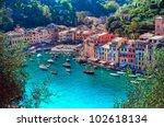 portofino  italy | Shutterstock . vector #102618134