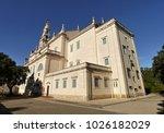 fatima church pilgrimage site....   Shutterstock . vector #1026182029