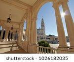 fatima church pilgrimage site....   Shutterstock . vector #1026182035