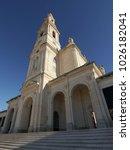 fatima church pilgrimage site....   Shutterstock . vector #1026182041