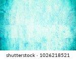 abstract blue grunge wall... | Shutterstock . vector #1026218521