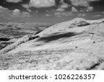 landscape of polish bieszczady... | Shutterstock . vector #1026226357