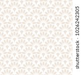 flower geometric pattern.... | Shutterstock .eps vector #1026242305