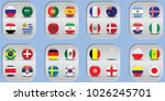 vector flags of the country.... | Shutterstock .eps vector #1026245701