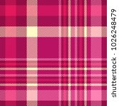 plaid check pattern in shades... | Shutterstock .eps vector #1026248479