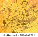 abstract painting. ink handmade ... | Shutterstock . vector #1026262921