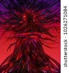 illustration of a fantasy... | Shutterstock . vector #1026271084