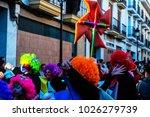 velez malaga  spain   february... | Shutterstock . vector #1026279739