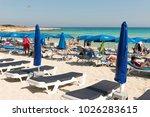 Nissi Beach  Ayia Napa  Cyprus...