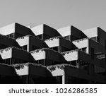 urban shadow pattern | Shutterstock . vector #1026286585