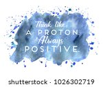 inspirational quote with...   Shutterstock . vector #1026302719
