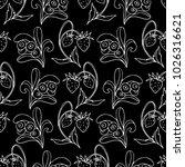 set of berries vector...   Shutterstock .eps vector #1026316621