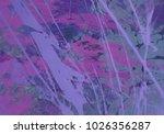 abstract painting. ink handmade ... | Shutterstock . vector #1026356287