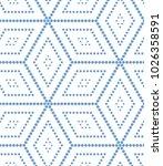 abstract geometric vector... | Shutterstock .eps vector #1026358591
