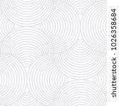 abstract geometric vector... | Shutterstock .eps vector #1026358684