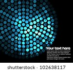 abstract background with blue...   Shutterstock .eps vector #102638117