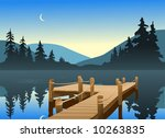 fishing dock | Shutterstock . vector #10263835
