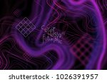 abstract banner template with...   Shutterstock .eps vector #1026391957