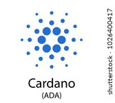 colorful cardano cryptocurrency ...   Shutterstock .eps vector #1026400417