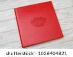 photo book with embossing....   Shutterstock . vector #1026404821