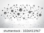 industry 4.0 concept smart... | Shutterstock .eps vector #1026411967